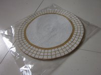 glass beads beaded table mats - round gold and white handmade beaded placemat set glass beads table mat beaded table runner beaded table charger