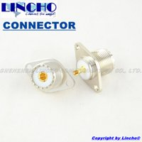 antenna hole plugs - 10 coaxial SO239 UHF female hole panel mount connector SO239 antenna socket plug