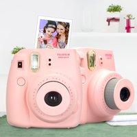 Wholesale Film Camera Instax Mini Instant Film Photo Polaroid Camera Pink Blue Black Yellow White Instant Camera Using Instax Mini Film