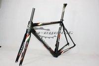 Wholesale light frame carbon road bike frame colnago c60 mtb carbon frame er china carbon biciclette frame