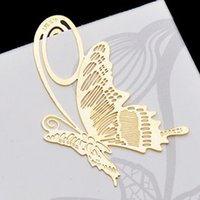 Wholesale Hot Free ship pc as a creative cute brass plated bookmark metal boookmark promotional gift order lt no tracking