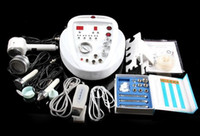 Wholesale 5 in DIAMOND MICRODERMABRASION DERMABRASION PEEL peeling machine Photon Skin Scrubber ultrasound facial beauty machine for home use