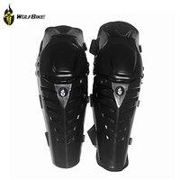 pads motorcycle - Motorcycle Protective Racing Motocross Shin and Knee Pads Protector Guard Gear Knee Brace Taticas BC313 WOLFBIKE