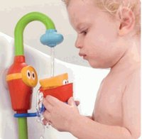 baby bath shower spray - baby electronic bath play taps toy buttressed music spray shower spray water and Drop Shipping