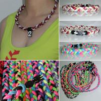 Chokers baseball necklaces - titanium jewelry necklace titanium chain tornado baseball sports necklace