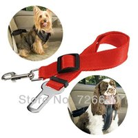 Wholesale Christmas Gifts Dog Pet Car Safety Seat Adjustable Belt Harness Restraint Lead Travel