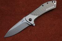 Cheap Zero tolerance Rexford ZT0801 D2 Blade titanium handle folding knife camping knife hunting flip pocket knife EDC tool