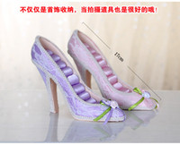jewelry shoe holder - High heel Shoe Ring Display Jewelry Holder Flower Pattern