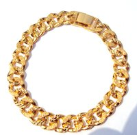 24k solid gold ring - Solid K CT Yellow GOLD GF Belcher Ring RINGS Link CHAIN Unisex BRACELET brand