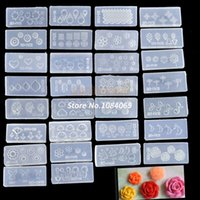 Cheap Hot Sale !30pcs Acrylic 3D Nail Art Mold For Nail Stickers Art Decoration Design DIY SET Drop Shipping b014 5910