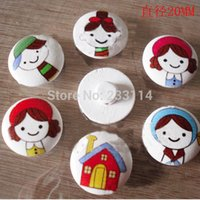 Wholesale DIY handmade accessories color painted wood log button MM buttons mushroom scrapbooking sewing craft accessorie wooden buttons