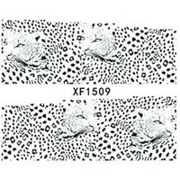 art fur animals - sheets Animal Fur Leopard Sexy Designs Nail Art Stickers Decals Full Cover Sexy Women Decorations Manicure Tools XF1509