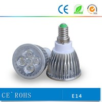 Wholesale Promotion Retail High power CREE W W GU10 MR16 E27 E14 B22 Led Light Lamp Spotlight bulb downlight lighting