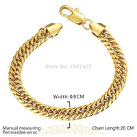 Wholesale 2015 MM k gold plated fashion snake chain Bracelets for men women Link Braceletss figaro jewelry B107