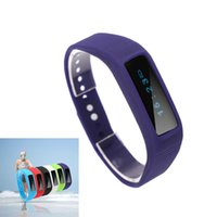 Wholesale Bluetooth Bracelet Smart Wristband Bracelet Time Calorie Sleep Sport Monitor for iOS Android Phone