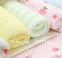 Wholesale G8 cotton baby little towels baby handkerchief bath towel infant towel pieces set