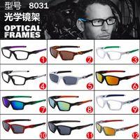 promotion sunglasses - 5 promotion new HOT SALE sun glasses men riding sports sunglasses glasses optical glasses OX8031 lack star