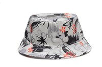 kangol hats - New baseball weed Bucket Hat Boonie floral Hunting hat Fisherman cap Casual kangol hats chapeau bob Outdoor Sun Cap