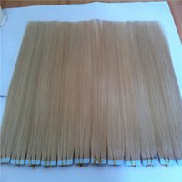 adhesive hair glue - Skin Weft Blonde Color pack Tape in Hair Extensions g Indian Remy Human Glue Adhesive in pu skin weft