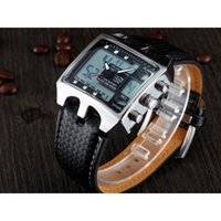 acrylic stores - Top design OHSEN AD0930 Men Sports Watches Analog Digital Quartz ATM Waterproof Dive Fashion Military Watch store Male Clock Gifts