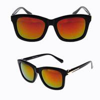 anti glare eyewear - 2016 New Fashion Vintage UV Protection Sunglasses For Women Big Frame Frog Mirror Eyewear Brand Beach Anti Glare Sun Glasses Goggle Colors