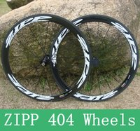 Wholesale Zipp Road Bike Wheelset Full Carbon Fiber T800 K Bike Wheel Carbon C MM Rim Road Bicycle Wheel Clincher and Tubular Available