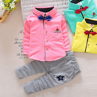 baby s suit - New Autumn Spring Baby Boy Clothes Set Top Pants Pieces Boys Gentleman Suit colors s l