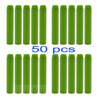 nerf darts - 50Pcs cm Refill Bullet Darts for Nerf N strike Elite Series Blasters Toy gun