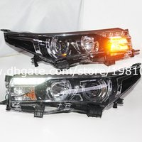toyota headlights - 2014 Year For Toyota Corolla Altis LED Headlight LD