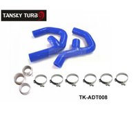 audi tt intercooler - Tansky Silicone Turbo boost Intercooler Hose Kit For Audi New TT A3 TFSI TDI BLUE TK ADT008