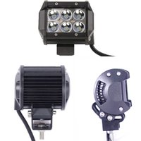 Wholesale 4 quot W Cree LED Work Light Bar Lamp Motorcycle Tractor Boat OffRoad WD x4 Motor Truck SUV ATV Spot Flood Beam v v