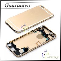 assembly trays - Piece Tested Replacement for Apple iphone Full Housing Back Cover Rear Door Flex Cable Card Tray with Buttons Assembly