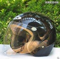 best open face motorcycle helmet - new arrive men women open face half helmet best selling motorcycle helmet for summer vintage moto capacete