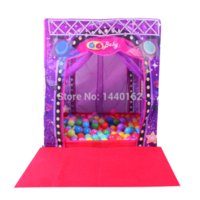 Cheap Outdoor toys play house baby toy Super Star Stage house playing Tent for Kids Toy House with Mat Outdoor Child Tent