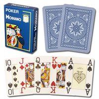 gambling game - XF Modiano Italian plastic Playing Cards dark blue Poker Jumbo Index poker games card games Casino games Magic trick gamble cheat