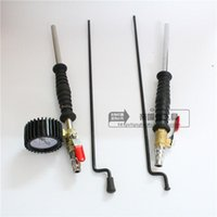 automotive hand pump - Table with hand filling nozzle tire pump filling Automotive Tools truck tires plus gas nozzle