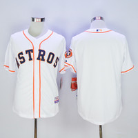 astros apparel - Astros White Blank Baseball Apparel Newest Baseball Uniform Men s Authentic Discount Uniforms Hotest New Baseball Wears Sports Jerseys