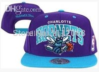 Wholesale Hot Charlotte Hornets basketball CAP Hats Adjustable Hip Hop cap man Adult adjustable hat