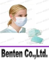 Wholesale LLFA7906 Medical Earloop Respirator Face Surgical Mask