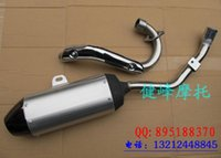 Wholesale Cqr off road motorcycle refit zhenglin muffler wd exhaust pipe