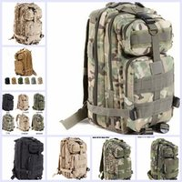 Backpacks Women Sport 9 color Sport Outdoor camouflage mountaineering bag 3p military Tactical Backpack laptop Molle Rucksacks Camping Trekking bag TOPB1914 50PCS