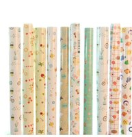 Cheap Wholesale LD-D025 creative life roll packing paper waterproof