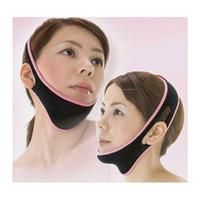 Wholesale 1pc Face Lift Up Belt Sleeping Mask Massage Slimming Facial Thin Masseter Double Chin Skin Care Face Lift Bandage