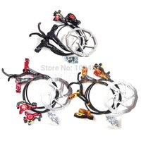 Wholesale ZOOM HS1 Bike Hydraulic Disc Brake Oil Disc Brake Front Rear disc For Mountain bike Bicycle parts set