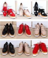 b eyewear - Stella Elyse Shoes Eyewear Runway New Britt Shoes Britt Wedge Lace up Platform Shoes Star Wooden wedged Oxfords Shoe