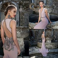 Cheap 2015 Tarik Ediz Best Evening Dresses Wear