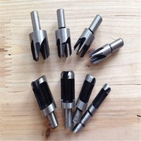 bench drilling - 10 carbon steel cork drill round handle tenon bit claw type drill bit apply to bench drill hardware tool supply