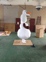 Costume de mascotte Olaf de haute qualité Costume adulte de mascotte Olaf Livraison gratuite