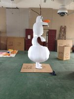 Wholesale High quality Olaf mascot costume Adult size Olaf mascot costume