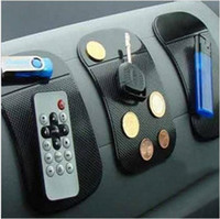 Wholesale Anti Slip Mat Non Slip Car Dashboard Sticky Pad Mat Powerful Silica Gel Magic Car Sticky Pad For Mp3 Mp4 Cell phone